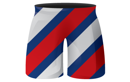 Chevron Sublimated Hockey Shorts