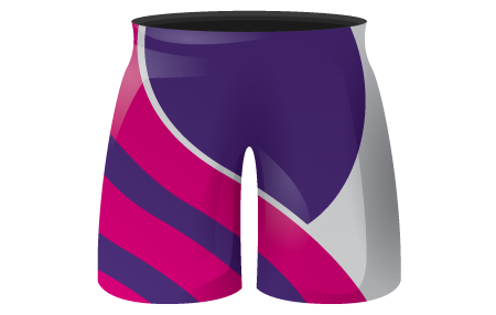 Flex Ladies Sublimated Hockey Shorts