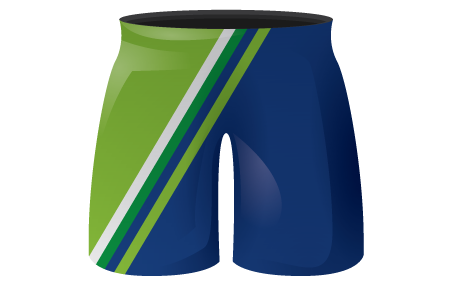 Incline Sublimated Hockey Shorts