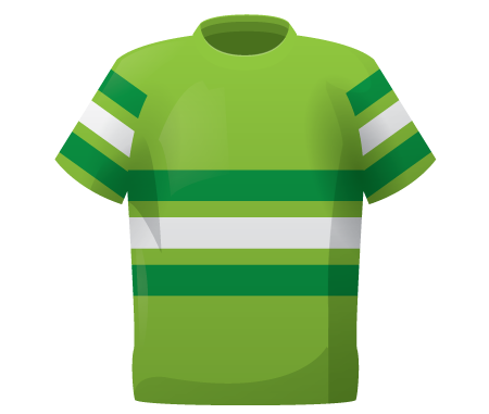 Tri Band Goalkeeper Smock Top