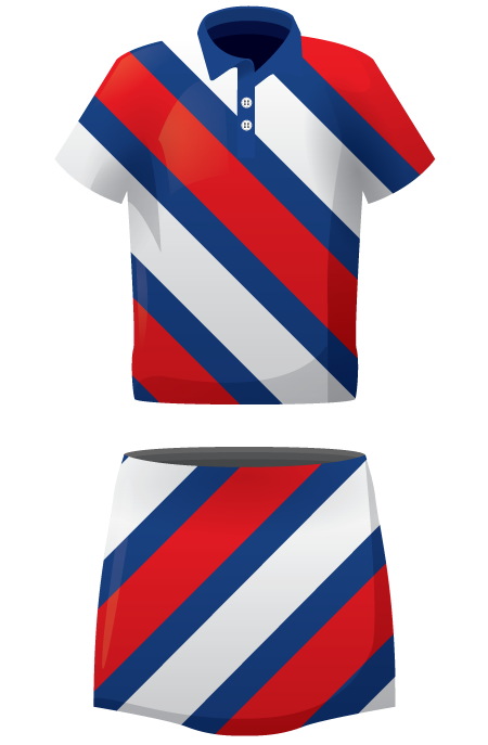 Chevron Ladies Sublimated Lacrosse Kit