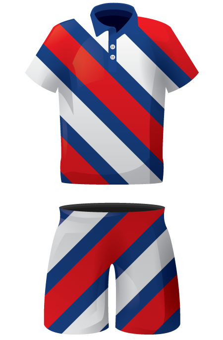 Chevron Sublimated Lacrosse Kit
