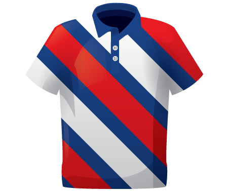 Chevron Sublimated Lacrosse Shirt