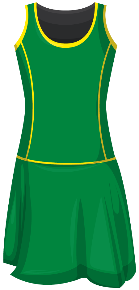 1 Piece Leotard Netball Dress A