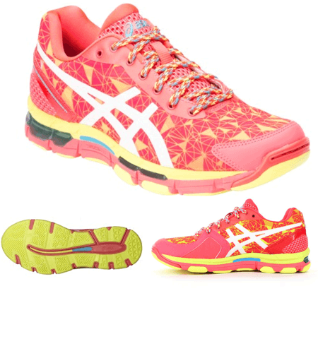 ASICS GEL Professional 11 Netball Trainers