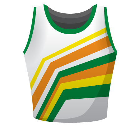 Faye Sublimated Netball Top