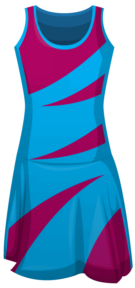 Finesse Sublimated Leotard Netball Dress
