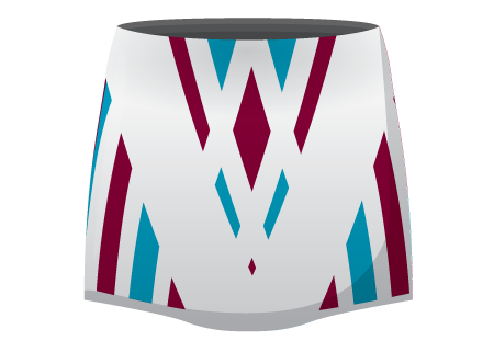 Isabella Sublimated Netball Skirt
