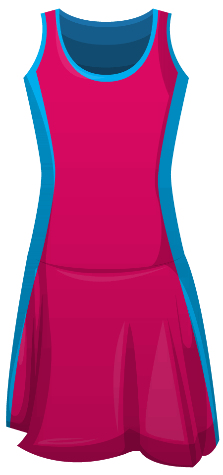 Leotard Netball Dress B
