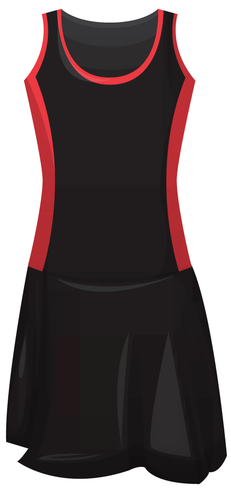 Leotard Netball Dress C