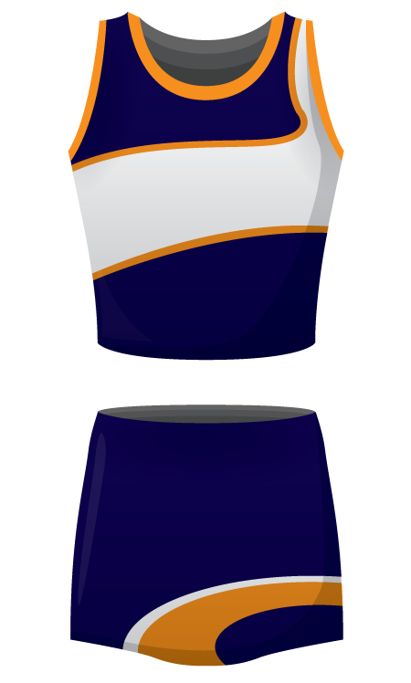 Mia Sublimated Netball Kit