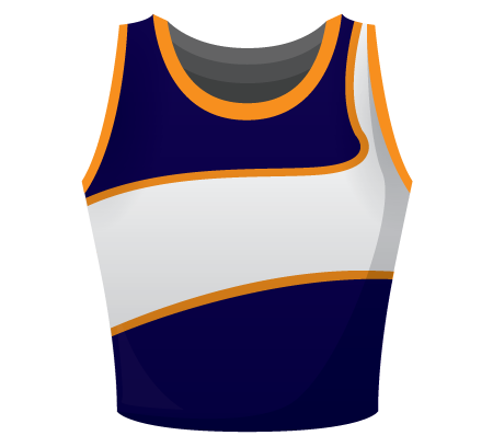 Mia Sublimated Netball Top