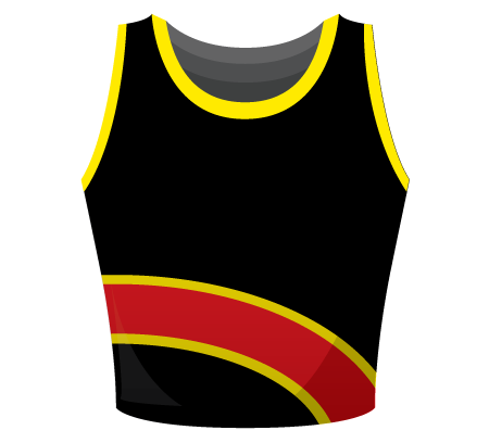 Olivia Sublimated Netball Top