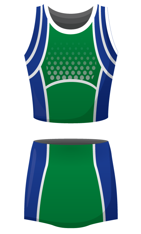 Strategy Sublimated Netball Kit