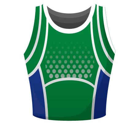 Strategy Sublimated Netball Top