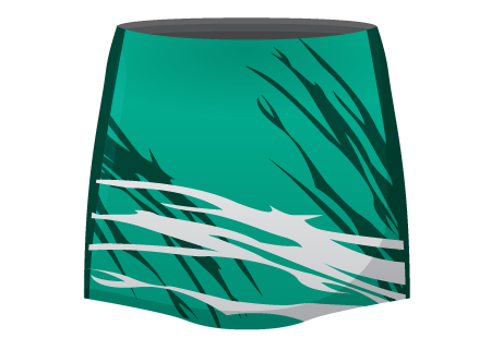Suzanne Sublimated Netball Skirt