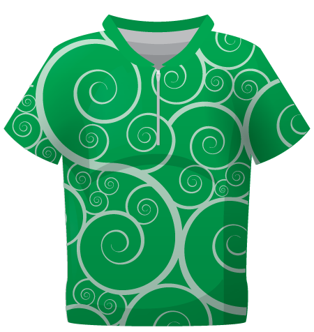 Heraldry Ladies Sublimated Orienteering Shirt
