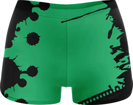 Grunge Sublimated Roller Derby Hotpants