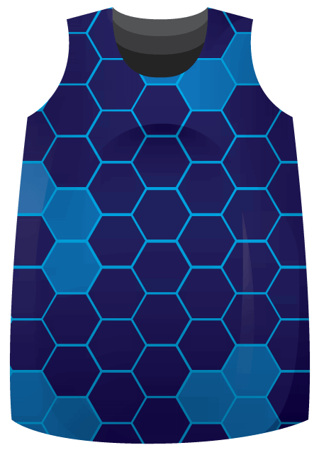 Hexed Sublimated Roller Derby Jersey