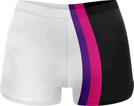 Neon Sublimated Roller Derby Hotpants