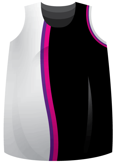Neon Sublimated Roller Derby Jersey