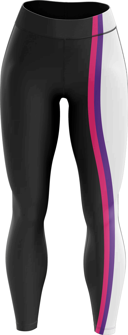Neon Sublimated Roller Derby Leggings