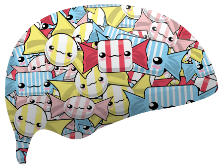 Okashi Sublimated Roller Derby Helmet Cover