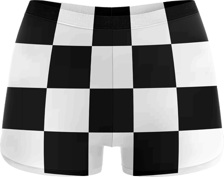 Retro Sublimated Roller Derby Hotpants
