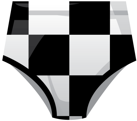 Retro Sublimated Roller Derby Knickers