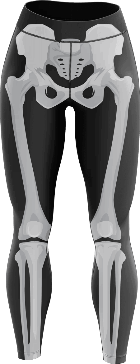 X Ray Sublimated Roller Derby Leggings