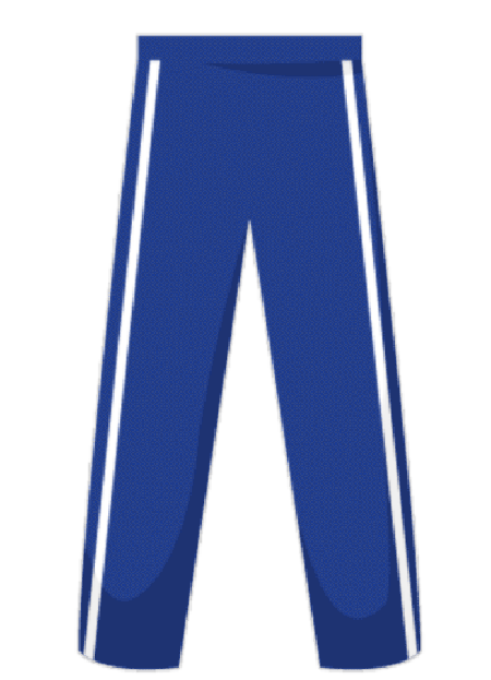 Style 3 Rounders Trousers With 2 Stripe