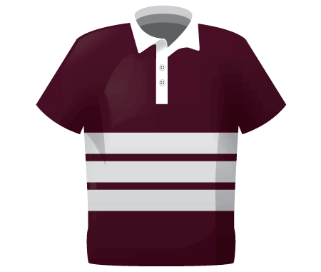 3 Stripe Reversible Womens Rugby Shirt
