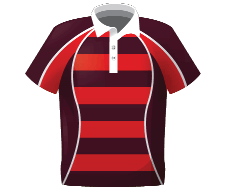 Broncos Sublimated Traditional Rugby Shirt
