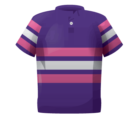 Tri Band Womens Rugby Shirt