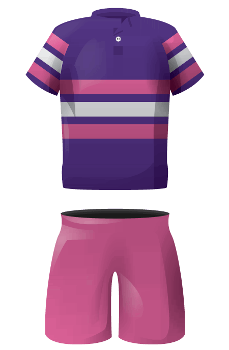 Tri Band Womens Traditional Rugby Kit