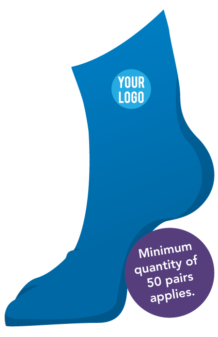 Custom Dress Socks With Logo