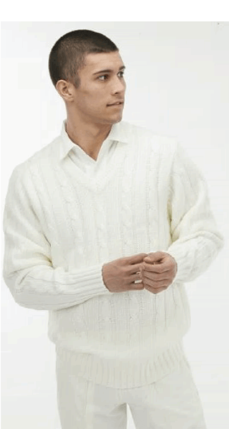 View Long Sleeve Cricket Sweaters