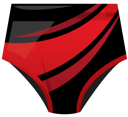 Inferno Sublimated Roller Derby Knickers