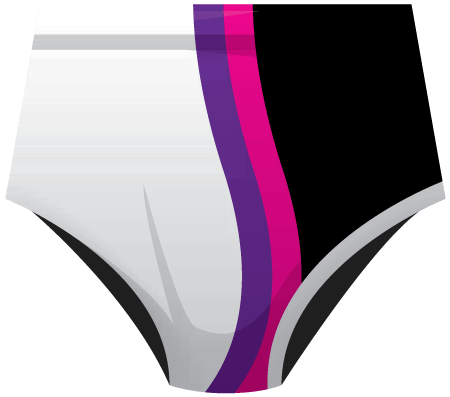 Neon Sublimated Roller Derby Knickers