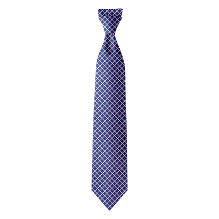 Style 8 Custom Polyester Ties