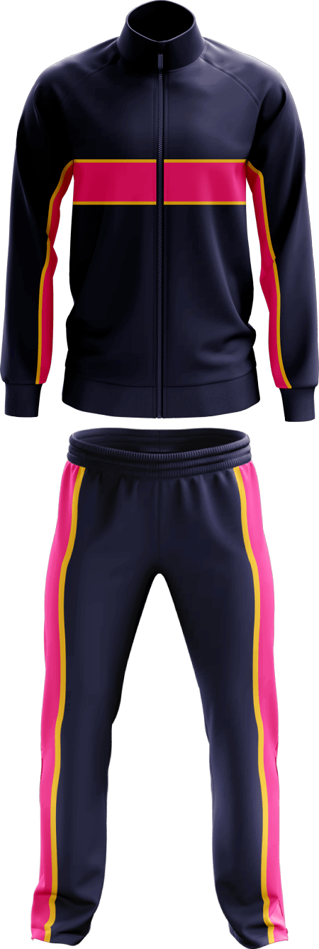 Max Panel Piping Full Tracksuit